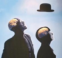silhouettes exposition Cerveau à la Cité des Sciences