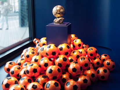 Ballon d'or Georges Weah exposition Musée national du sport - scénorama